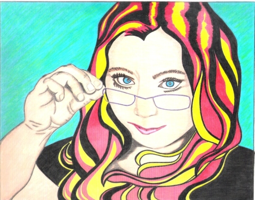 This 29-year-old gets creative with her avatar on the Sharpie Uncapped site.